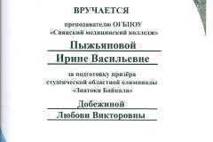 Пыжьянова ИВ