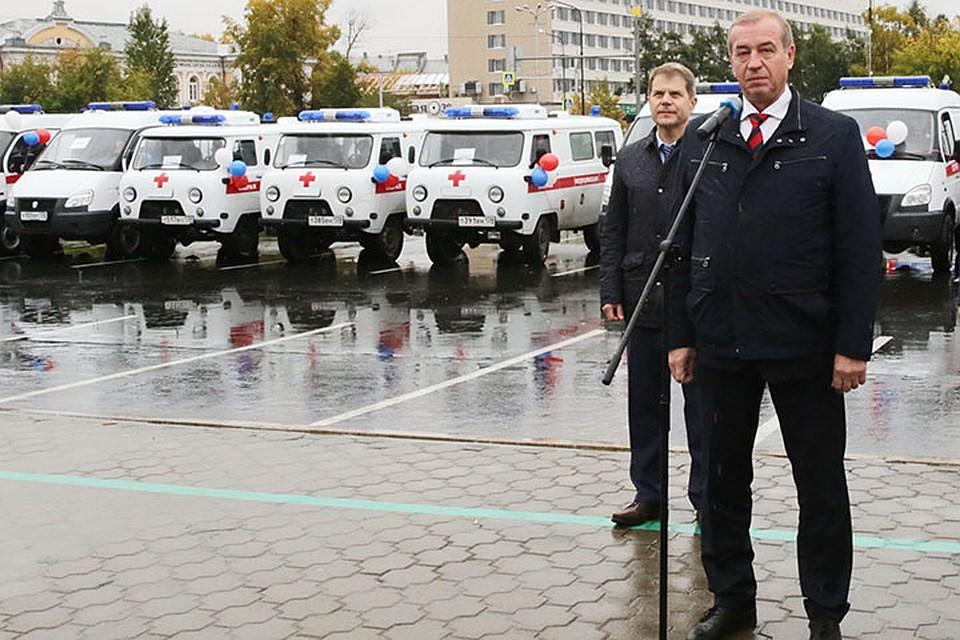 В регионе обновляют парк машин скорой помощи.
